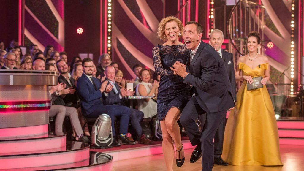 V Křižíkových ateliérech na Pražském Výstavišti se uskutečnil žívý přenos tanečního soutěžního pořadu České televize Stardance.